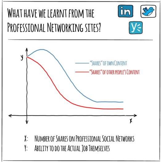 What have we learnt from the professional networking sites?